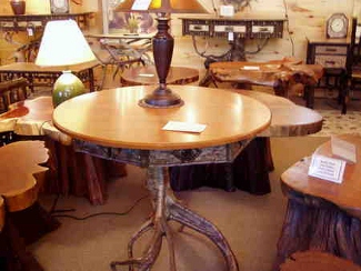 Dining Tables Amp End Tables Owls Head Rustics